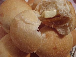クリームチーズとピールのパン<br />