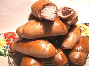 ハイビスカスのパン<br />