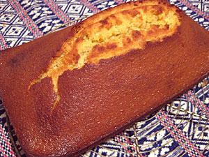 酵母パウンドケーキ