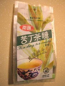 苦丁茶糖<br />