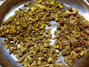 黄連解毒湯材料