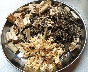 活血調経茶材料