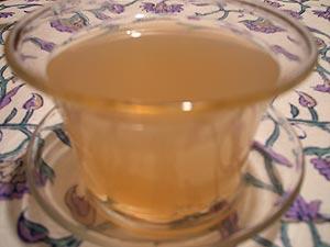 杏仁蜂蜜茶